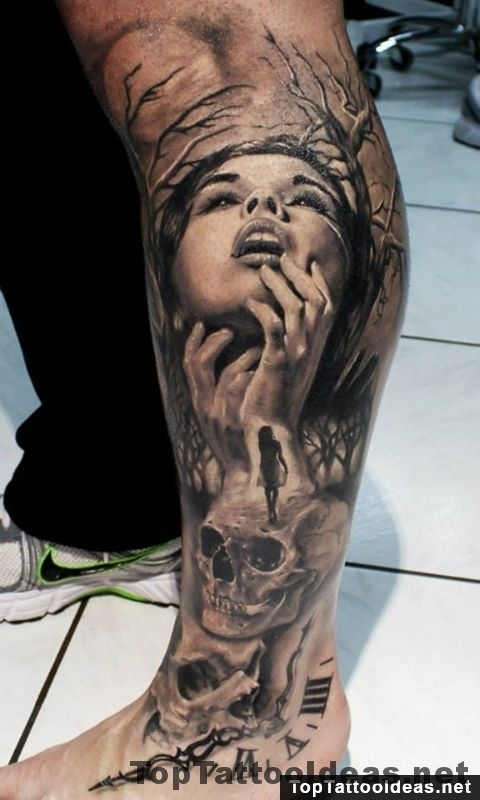 Alone In Time Top Tattoo Ideas