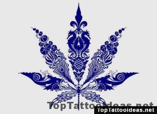 Weed Tattoo Design Top Tattoo Ideas