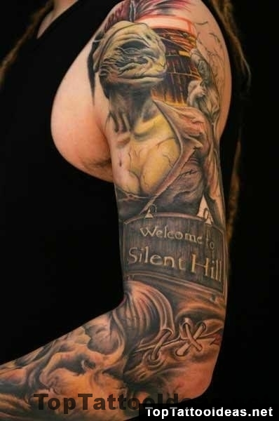 Welcome To Silent Hill Top Tattoo Ideas