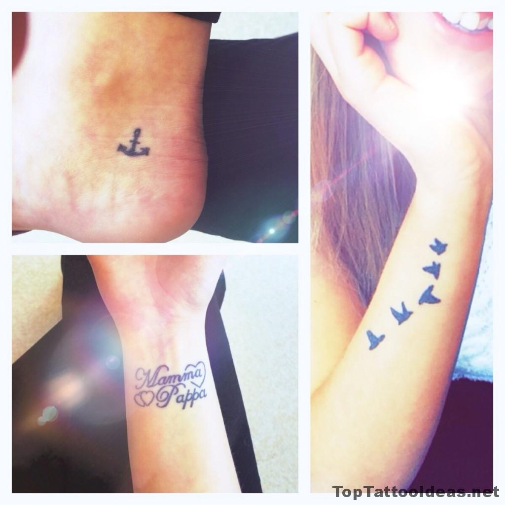 Girl tattos