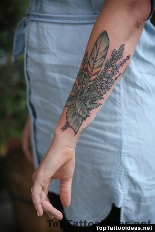 Herbs Tattoo