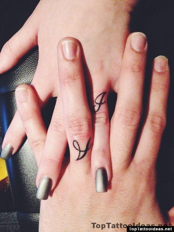 Marriage Ring Finger Tattoo Idea
