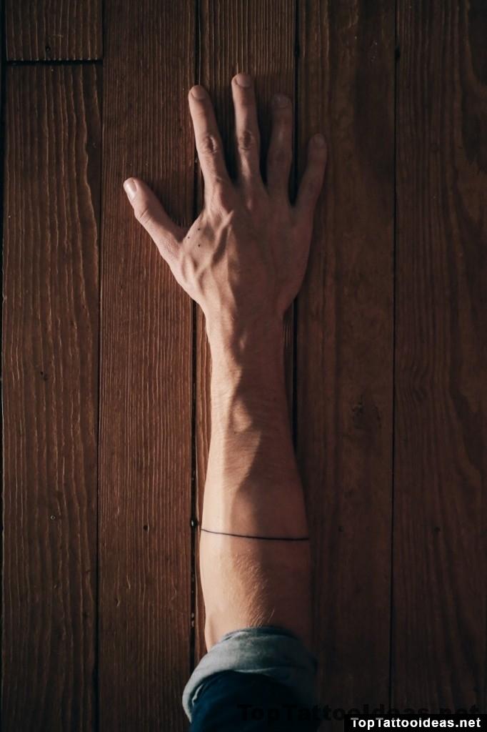 Minimal Tattoos On Arm