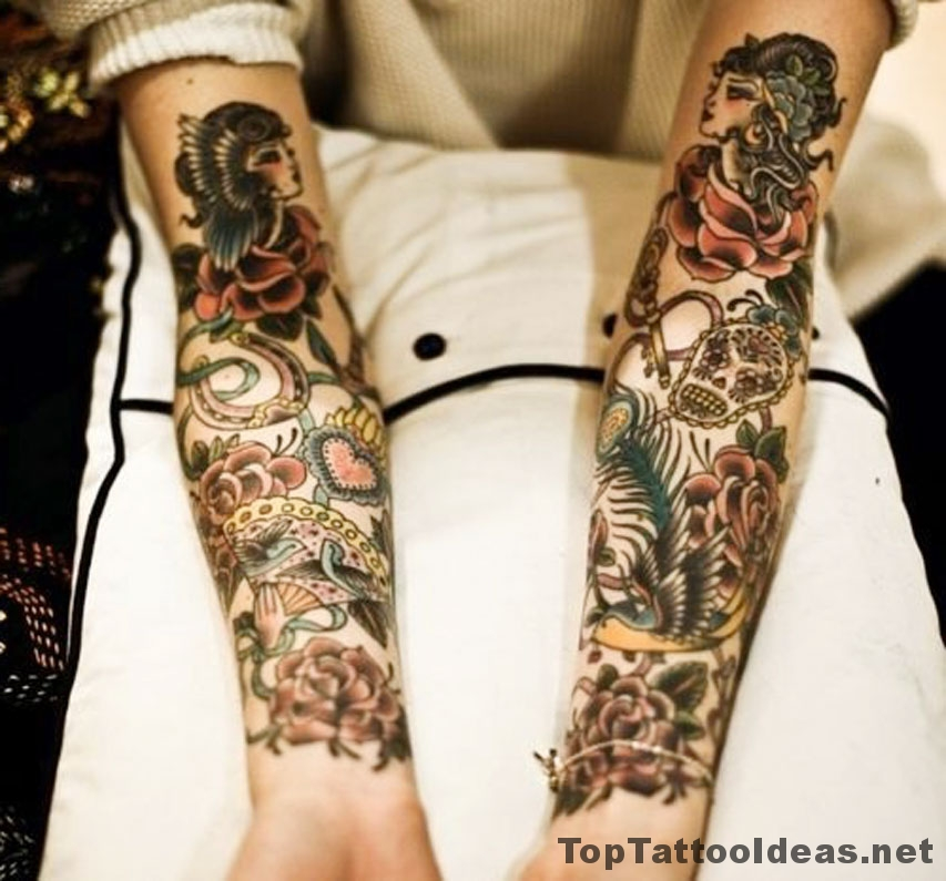 Classy Arm Tattoos Tattoo Idea