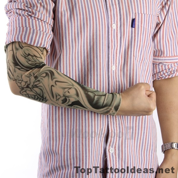 Cool Fake Tattoo Sleeves For Men