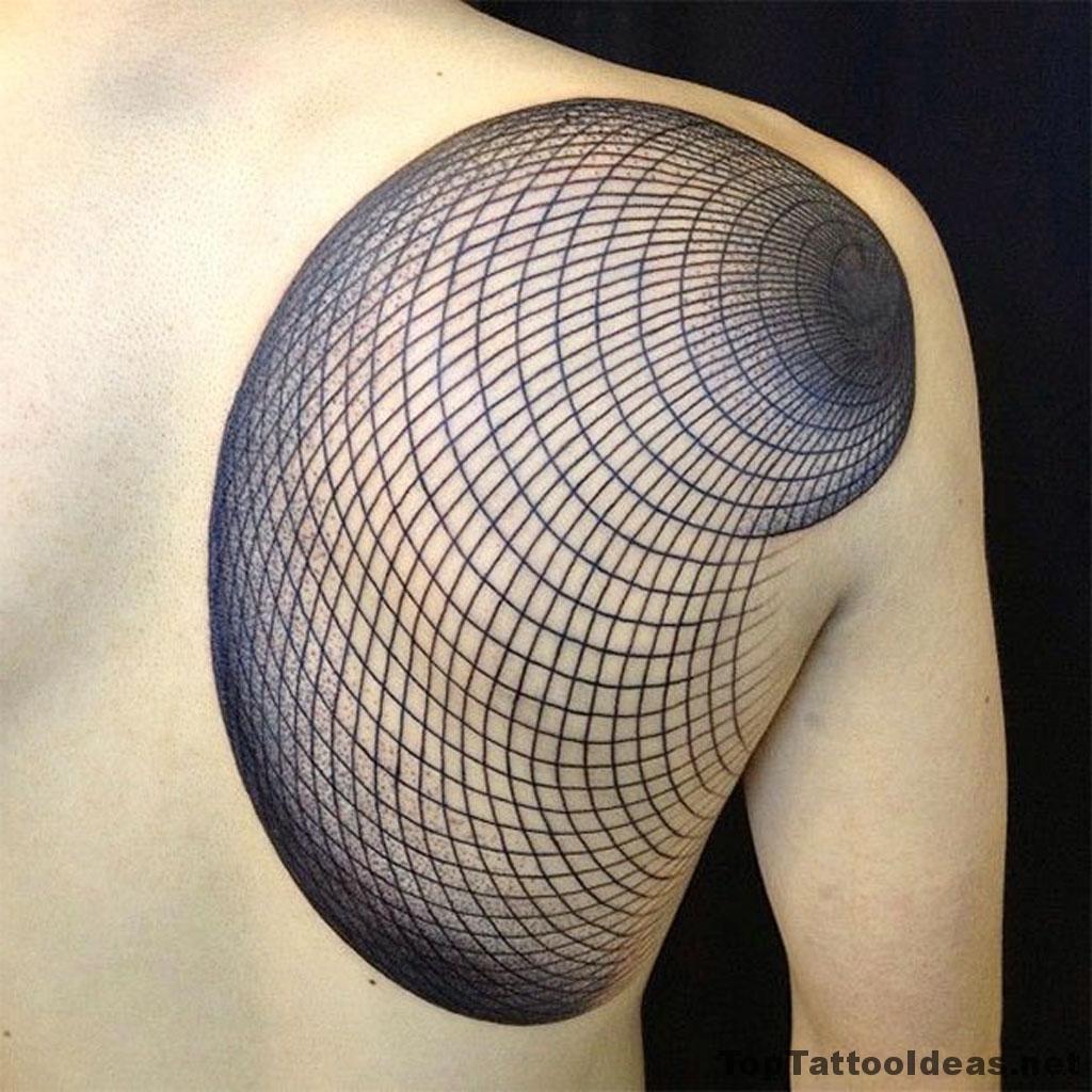 Geometric Tattoo By Manuel Winkler Idea