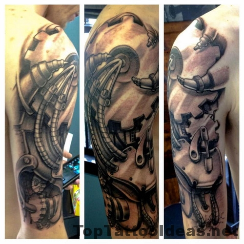 Nice Arm Sleeves Tattoos Ideas