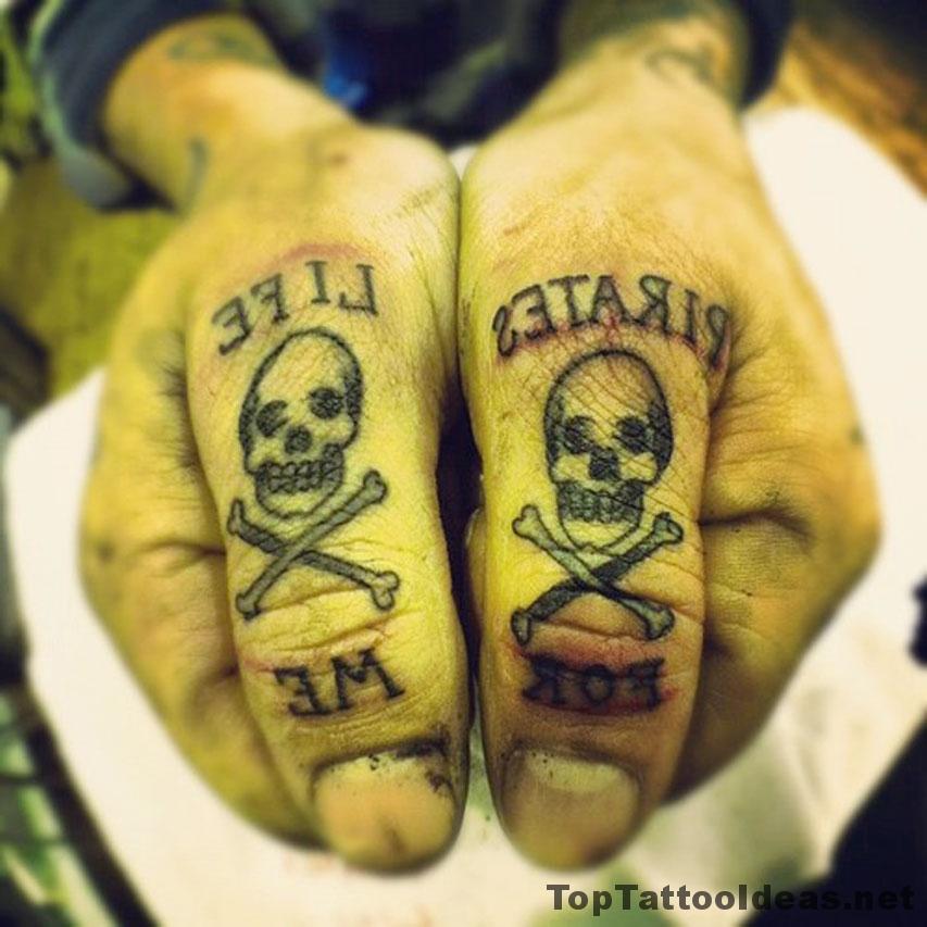 Pirates Life For Me Tattoo Idea