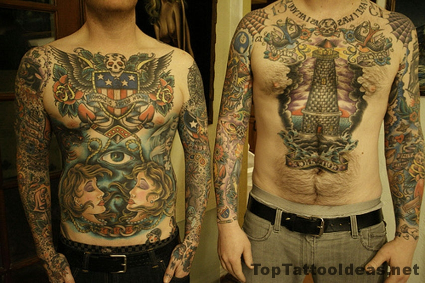 Tattooed Dudes Tattoo Idea