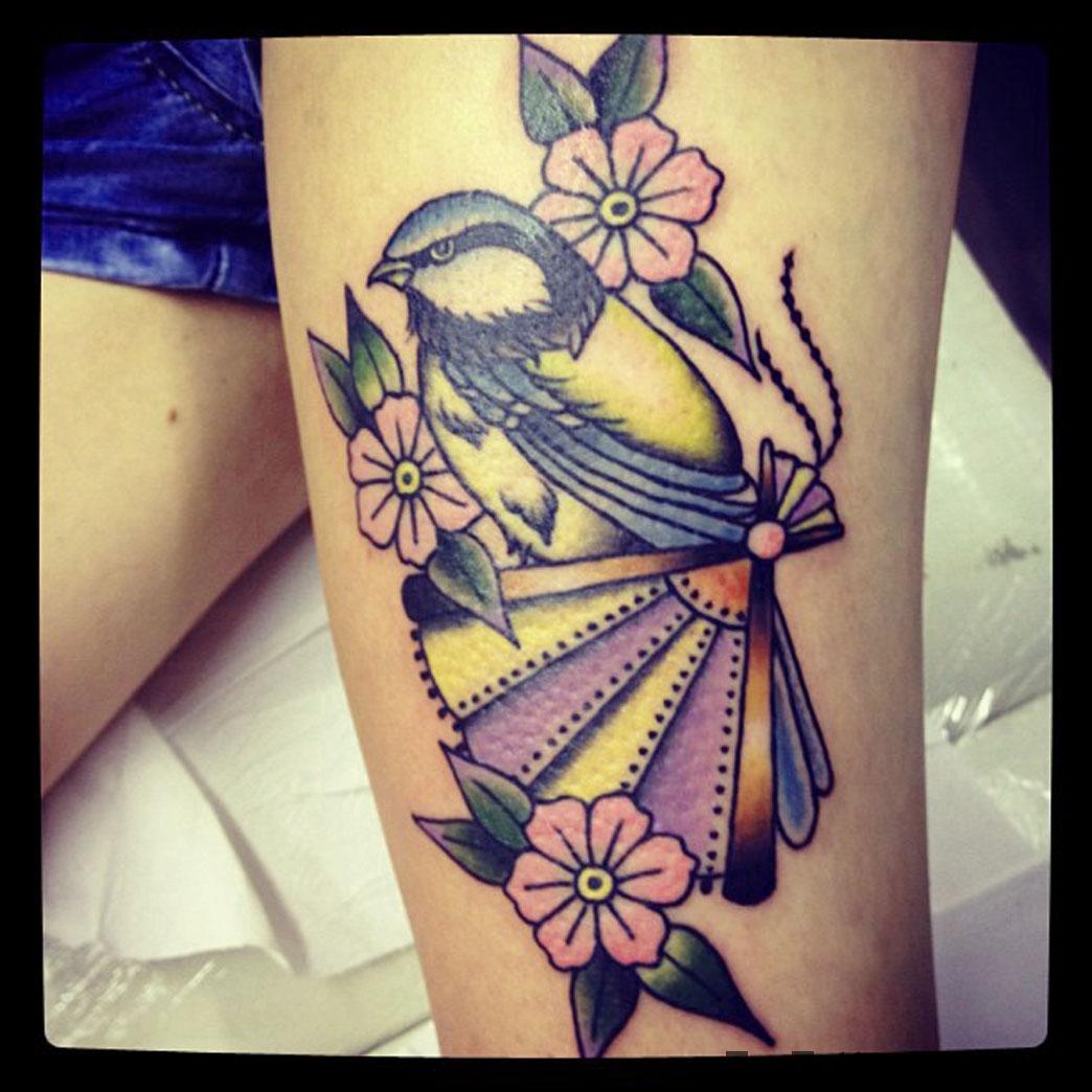 Tit Tattoo Idea