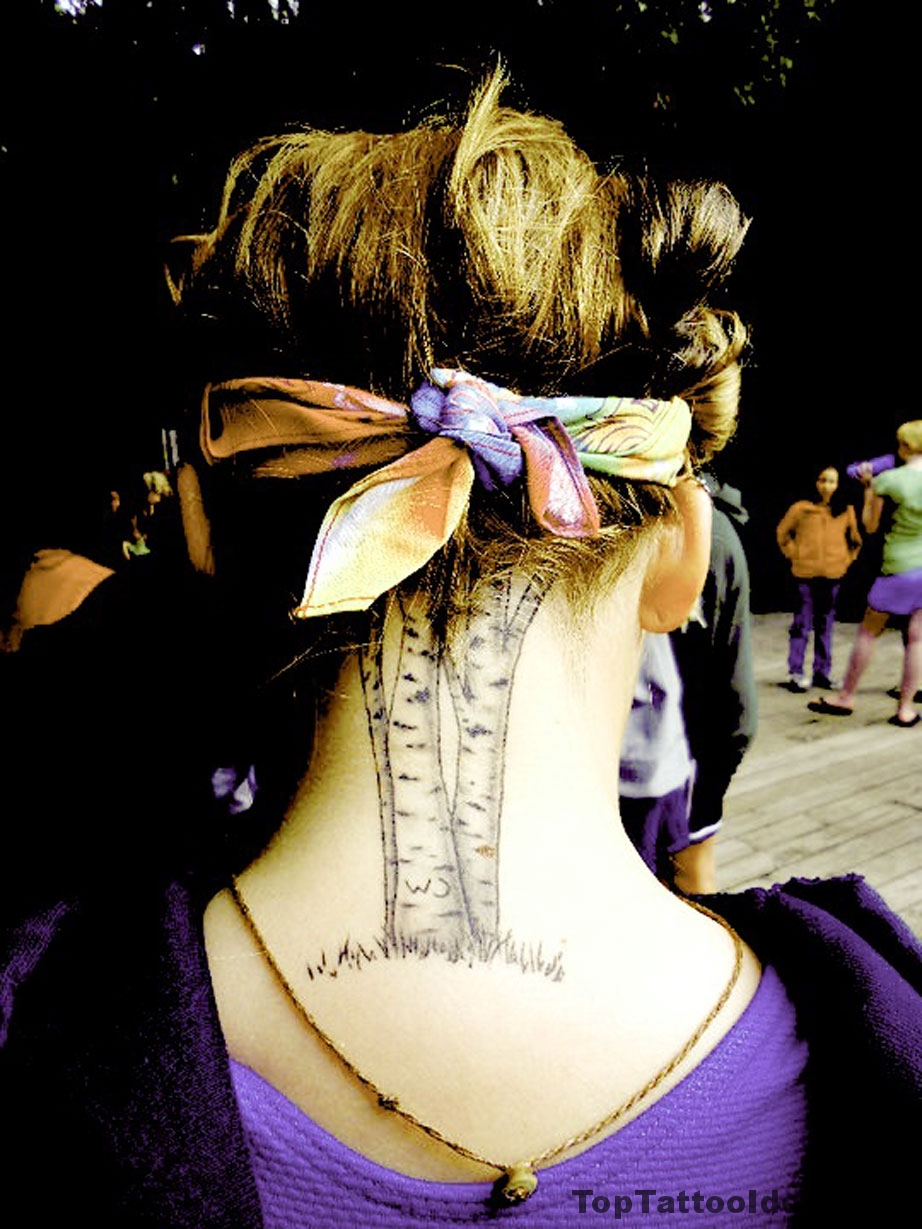 Awesome Neck Tattoo Idea Idea