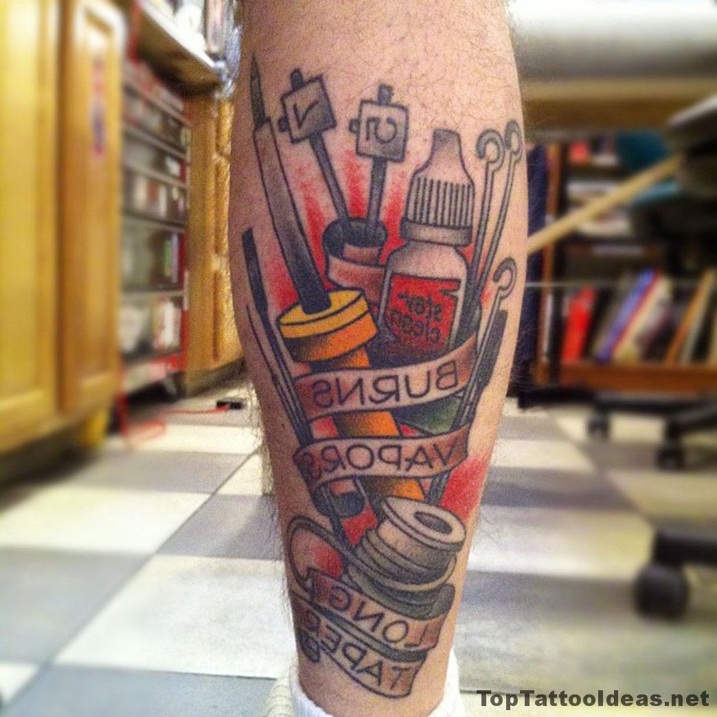 Burns Tattoo Idea