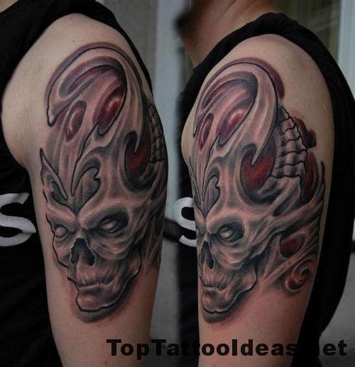 Charming Sleeve Tattoos For Black Men
