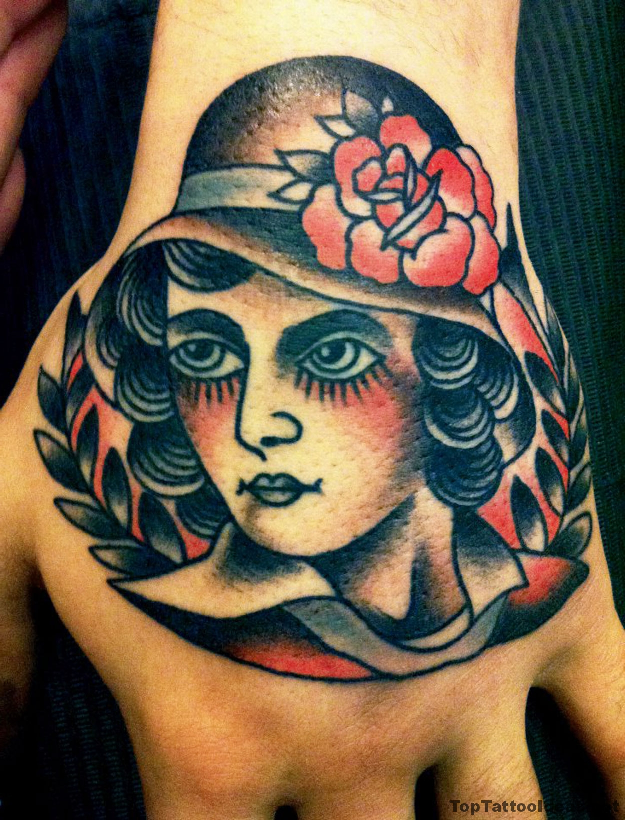 Classy Lady Hand Ink Tattoo Idea