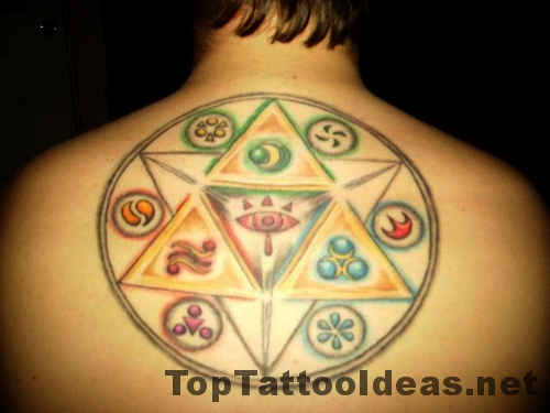 Cool Wiccan Tattoos For Men