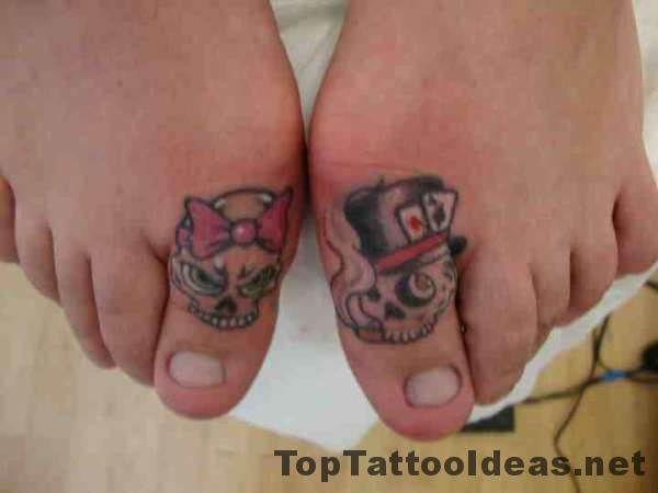 Nice Toe Tattoo Ideas