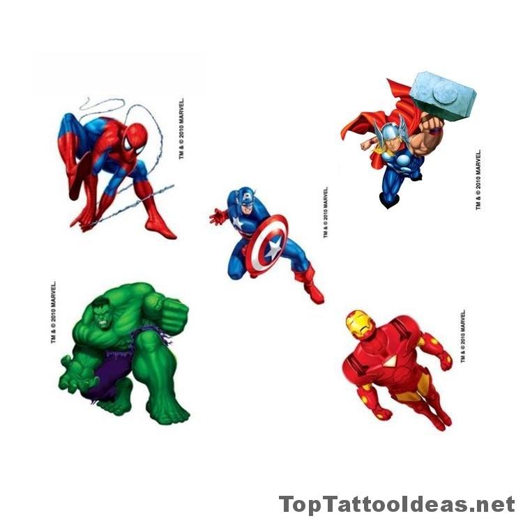 Temporary Tattoos For Boys