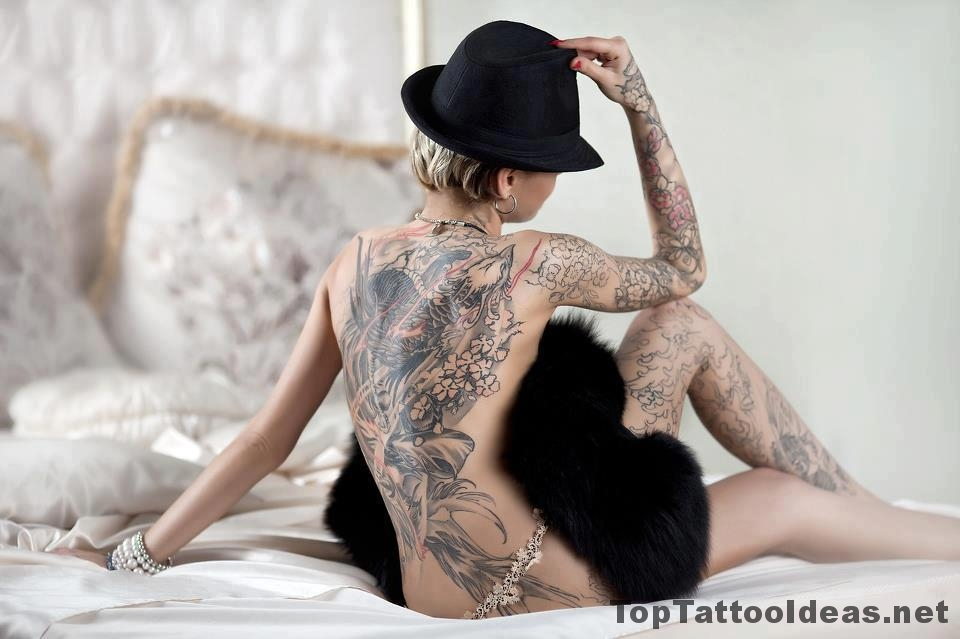 Back Tattoos For Women Designs