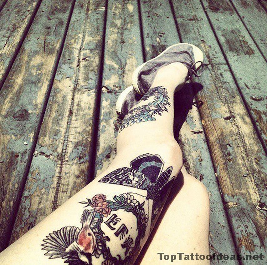 Beautiful Legs Tattoos Tattoo Idea