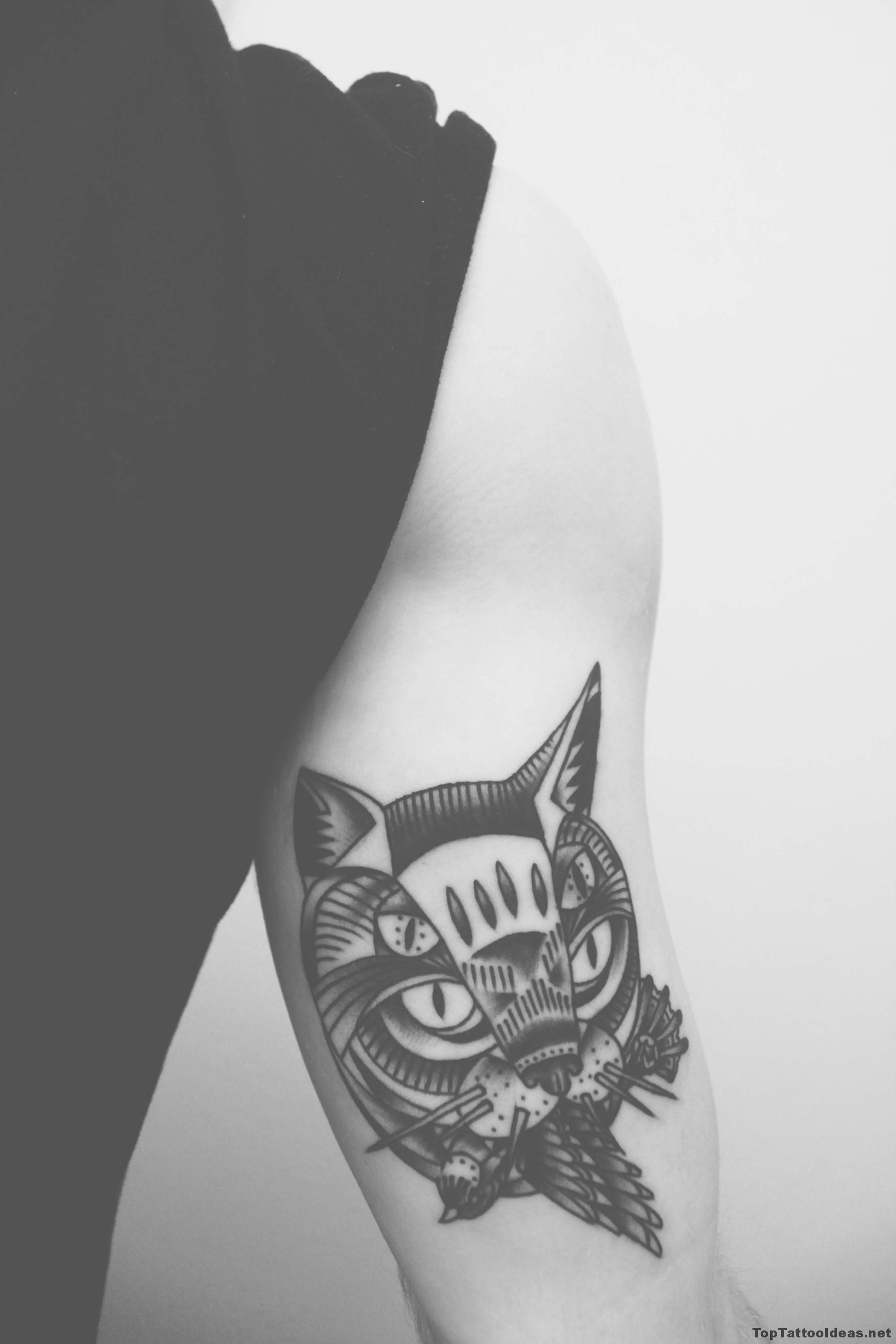 Catowl Tattoo Idea