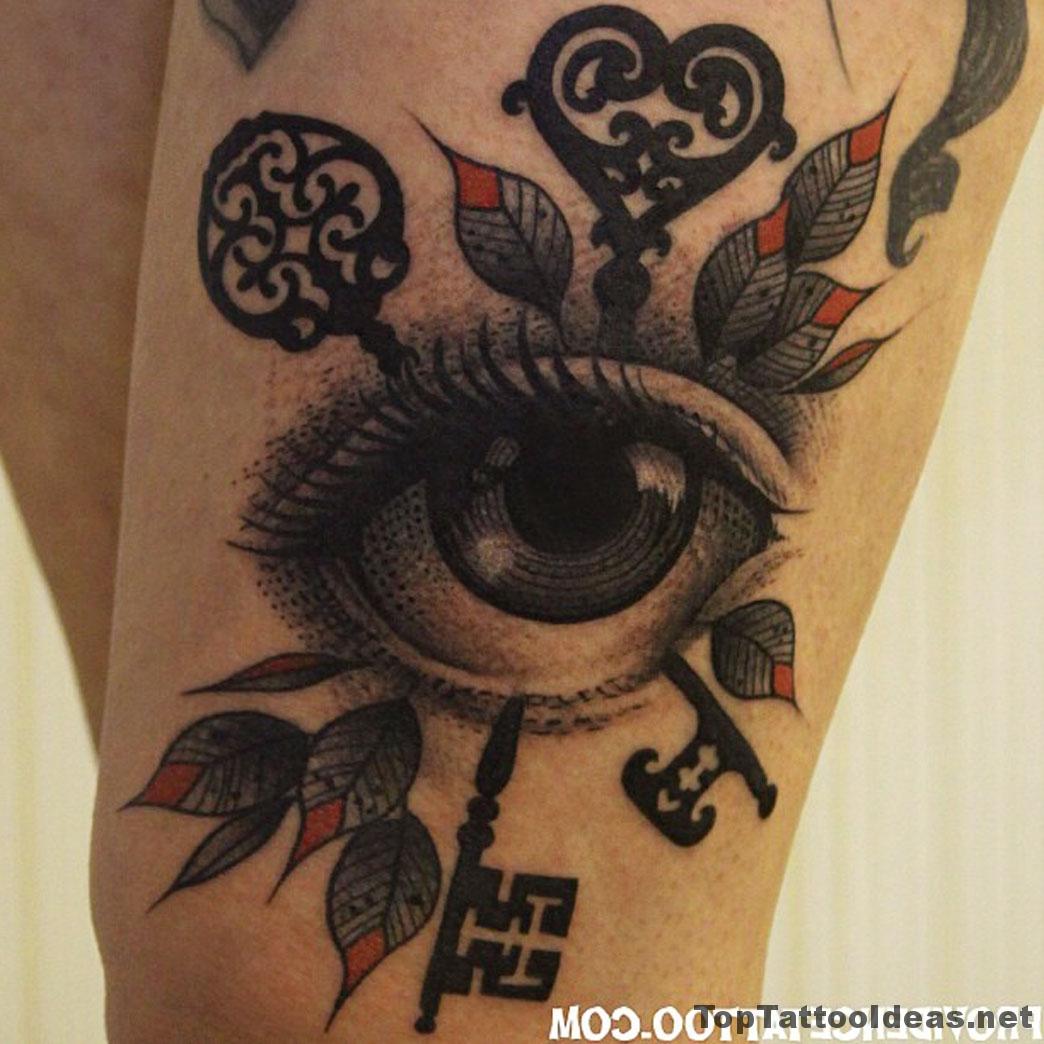 Eye Tattoo Idea
