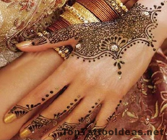 Good Henna Tattoo Designs For Hands