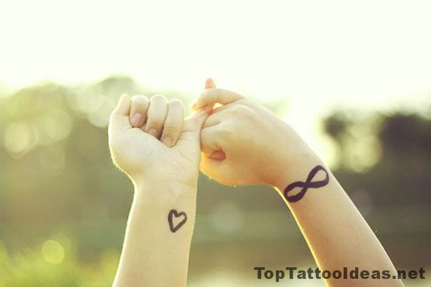 Infinite Love Tattoo Idea