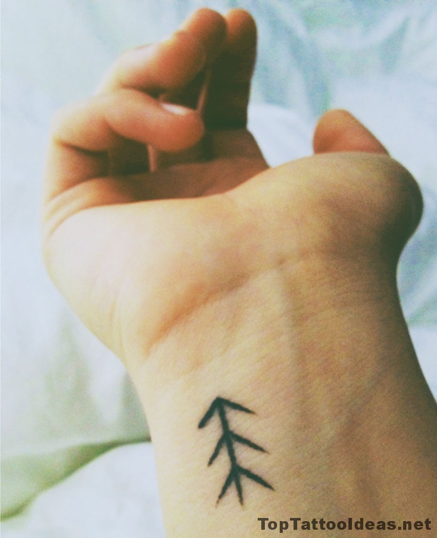 Simple Wrist Tattoo Idea