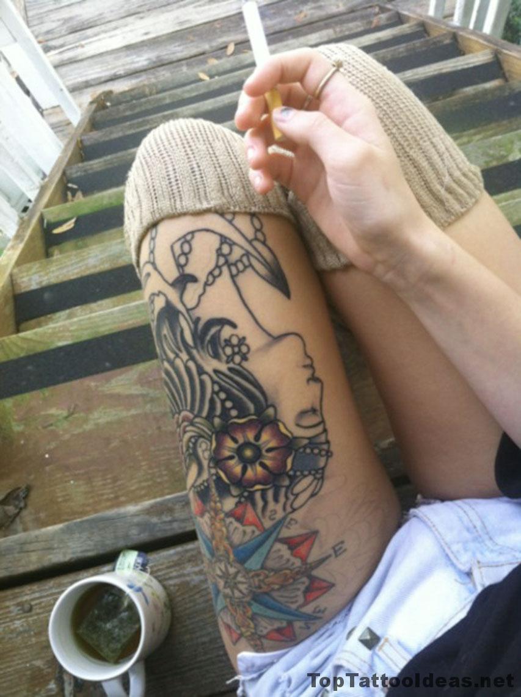 Tattoo Coffee And Cigarettes Idea