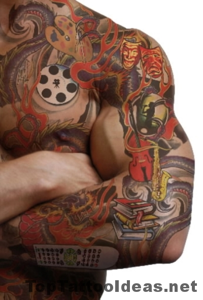 Amazing Men Forearm Tattoo Ideas