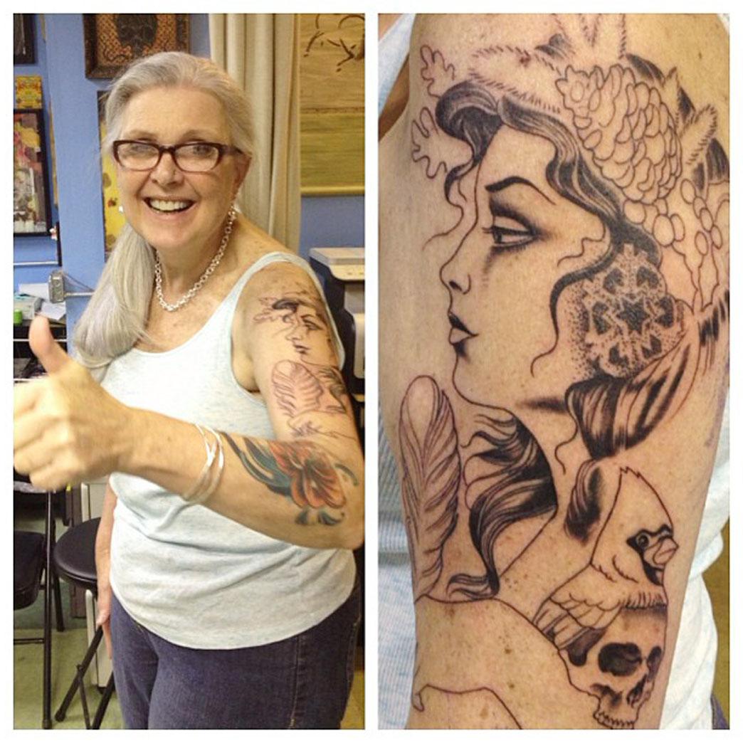 Awesome Mum Tattoo Idea