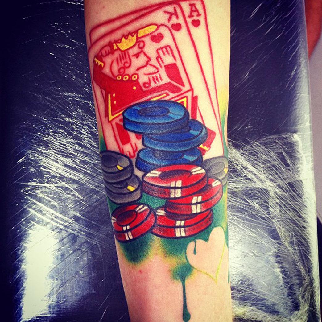 Cool Arm Tattoo Idea Idea