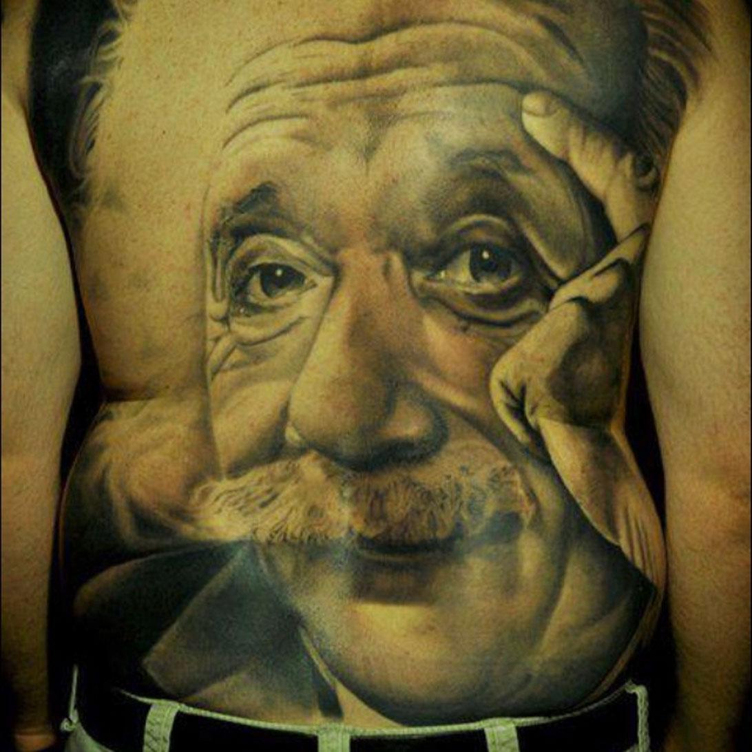Einstein Tattoo Idea
