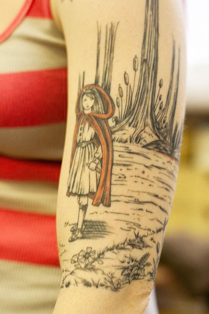 Fairytale Tattoo Idea