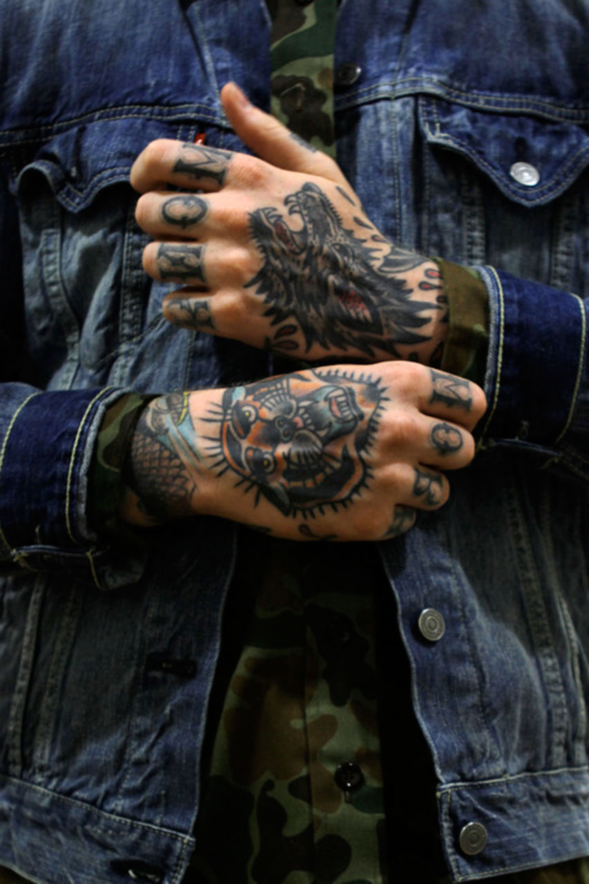 Guys Hands Tattoos Tattoo Idea
