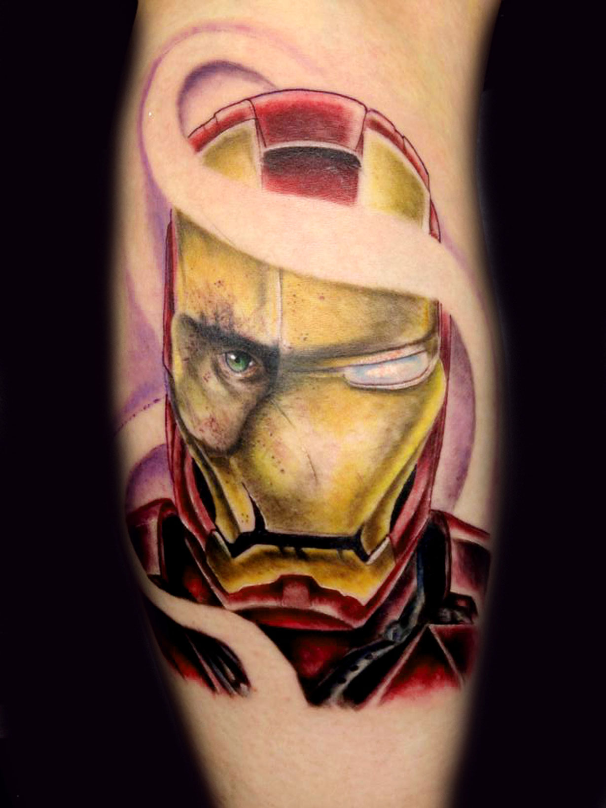Ironman Tattoo Idea